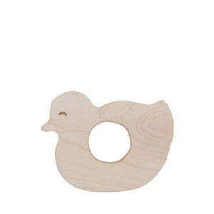 Wooden Story Teether – Duck