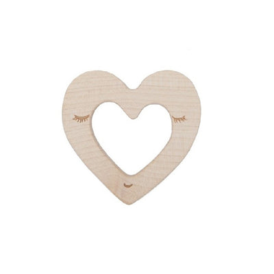Wooden Story Teether – Heart