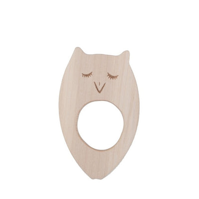 Wooden Story Teether – Owl