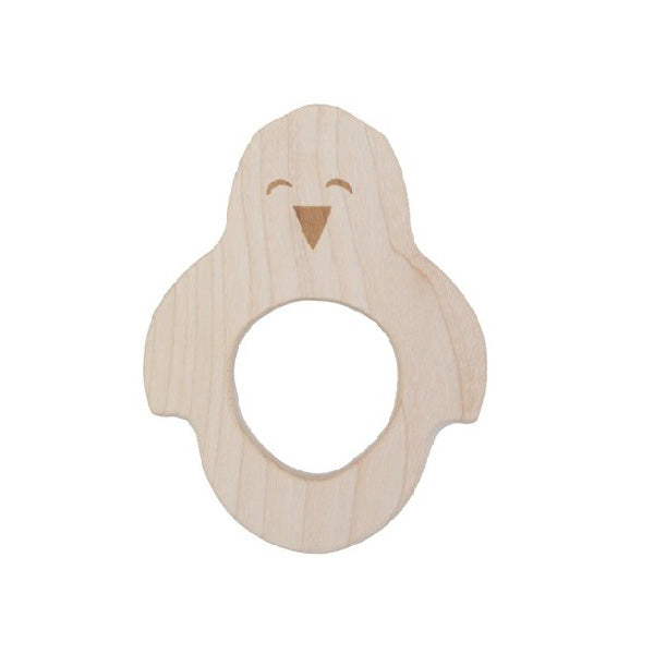 Wooden Story Teether – Penguin