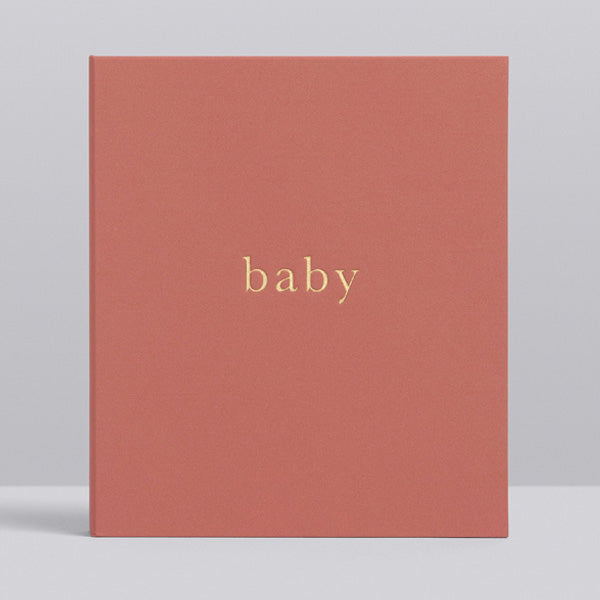 Write to Me Baby Journal - Your First Five Years • Blush