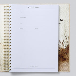 Write to Me Baby Journal - Your First Five Years • Oatmeal