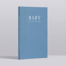 Write To Me Baby Journal - The First Five Years • Blue