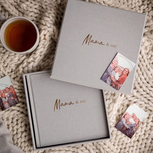 Write To Me Mama & Me • Grey