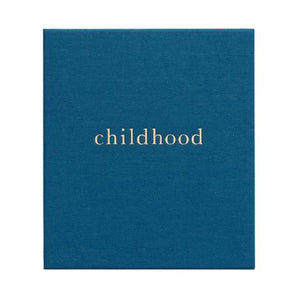 Write to Me Childhood Journal - Your Childhood Memories • Royal Blue