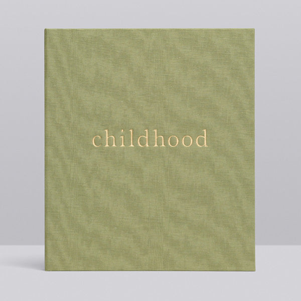 Write to Me Childhood Journal - Your Childhood Memories • Sage
