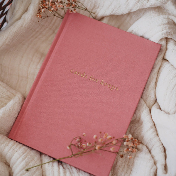Write To Me Cards for Keeps Journal - Blush
