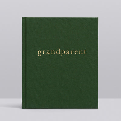 Write To Me Grandparent Journal - Moments to Remember • Emerald