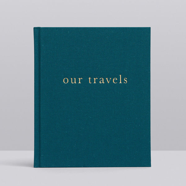 Write To Me Our Travels Journal - Our Family Travels