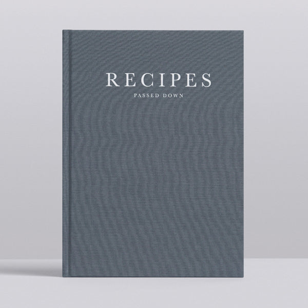 Write To Me Journal - Recipes Passed Down • Stone