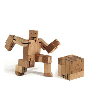 Areaware Cubebot Natural – Small