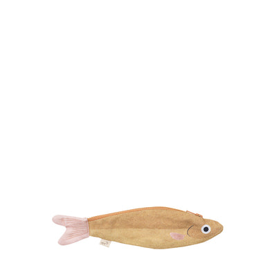 Don Fisher Japan Keychain - Mustard Anchovy