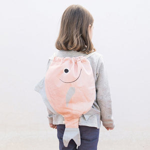 Don Fisher Japan Backpack Kid – Pink Silver Biddy