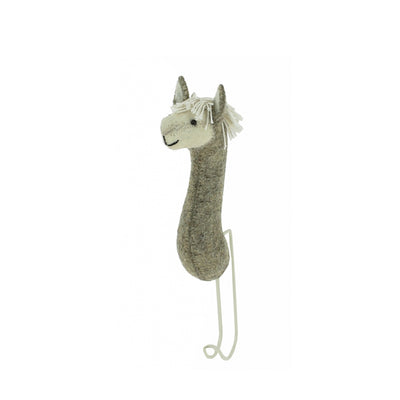 Fiona Walker Animal Head Hook – Llama