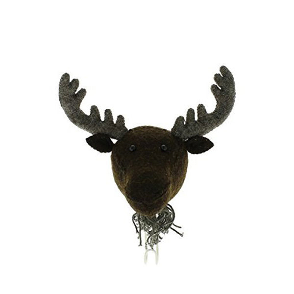 Fiona Walker Animal Head Hook – Moose