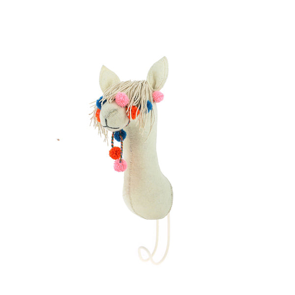 Fiona Walker Animal Head Hook – Llama with Bridle