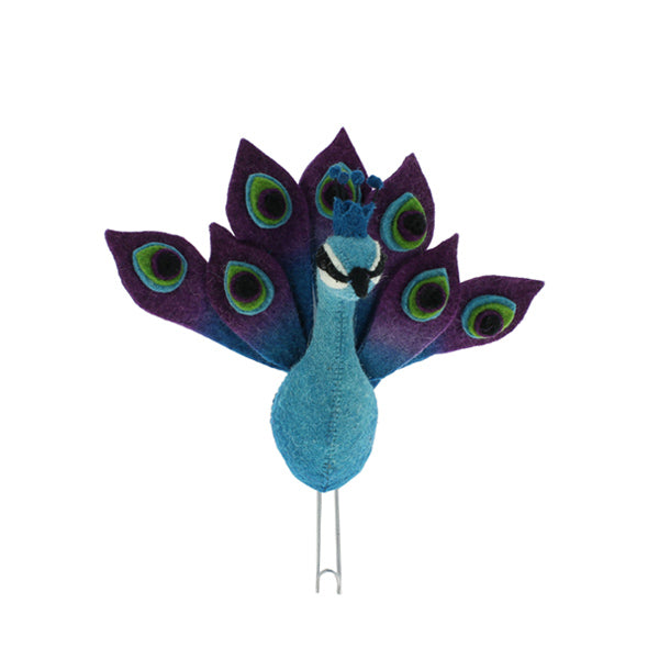 Fiona Walker Animal Head Hook – Peacock