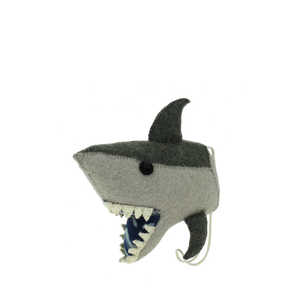 Fiona Walker Animal Head Hook – Shark