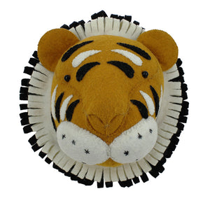 Fiona Walker Animal Head – Double Ruff Tiger