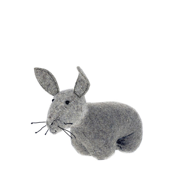 Fiona Walker Door Stop / Bookend – Grey Hare