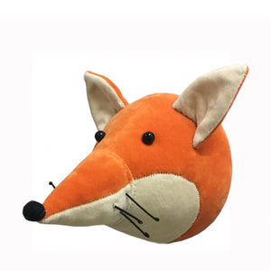 Fiona Walker Mini Animal Head - Velvet Fox