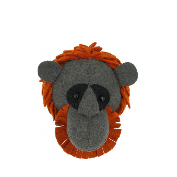 Fiona Walker Mini Animal Head – Orangutan