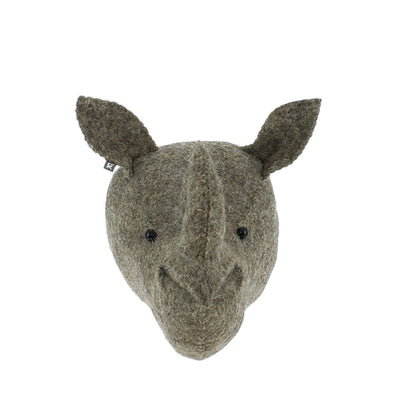 Fiona Walker Mini Animal Head – Rhino
