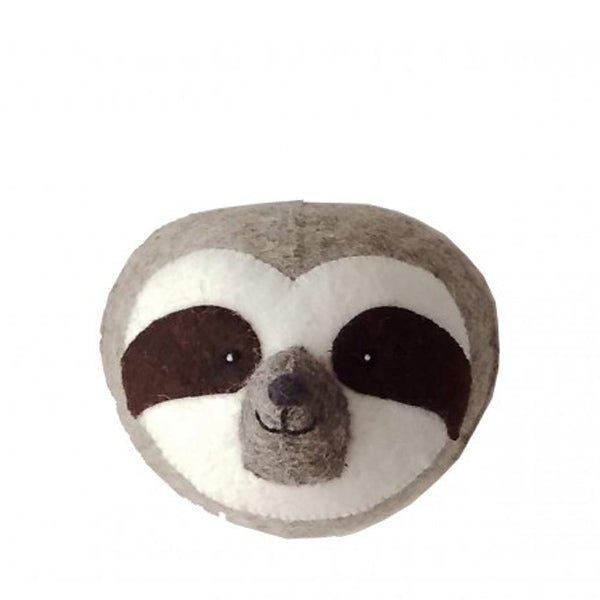 Fiona Walker Mini Animal Head – Sloth