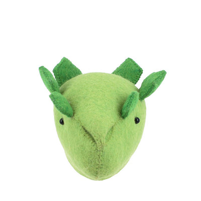 Fiona Walker Mini Dinosaur Head – Stegosaurus