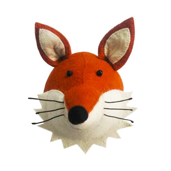 Fiona Walker Animal Head – Fox with Ruff