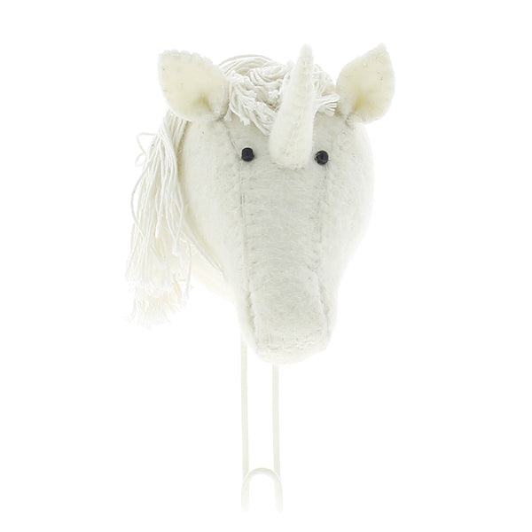 Fiona Walker Unicorn Animal Head Hook