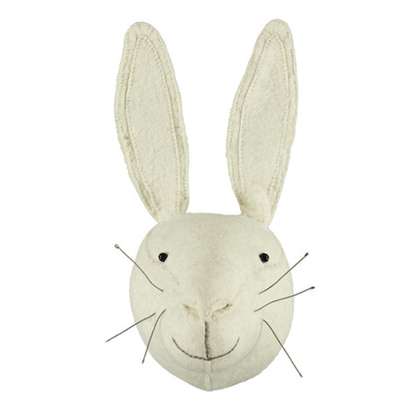 Fiona Walker White Rabbit Animal Head