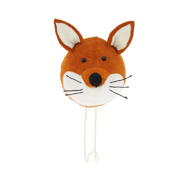 Fiona Walker Fox Animal Head Hook