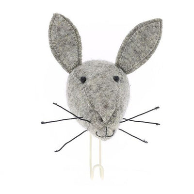 Fiona Walker Hare Animal Head Hook