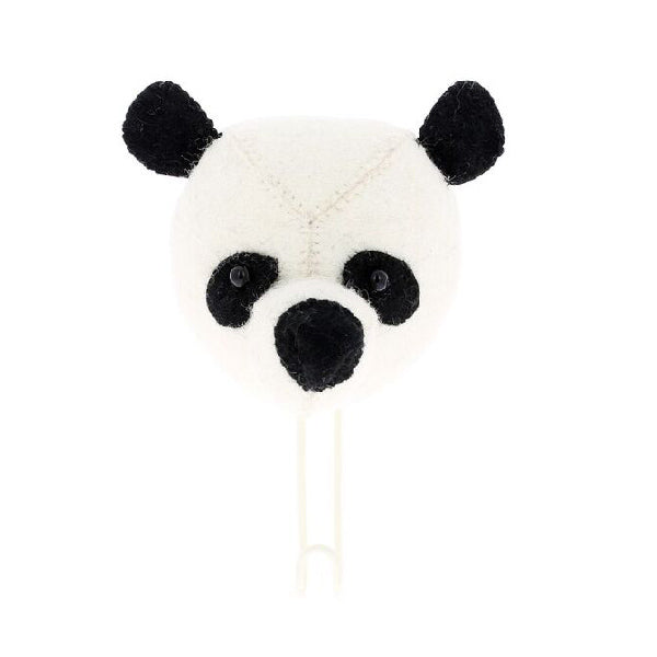 Fiona Walker Panda Animal Head Large Hook
