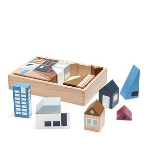 Kid's Concept AIDEN - City Wooden Blocks