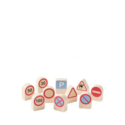 Kid's Concept AIDEN - Traffic Signs 10 pcs