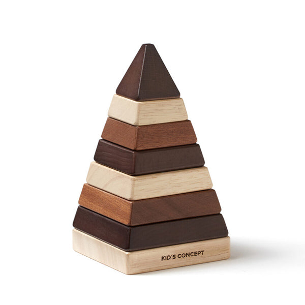 Kid's Concept NEO - Stacking Pyramid Natural