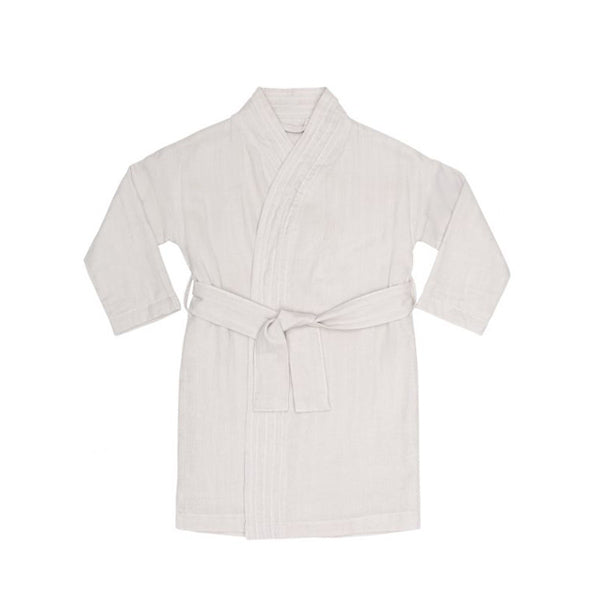 Konges Sløjd Kids Muslin Bathrobe – Nimbus Cloud