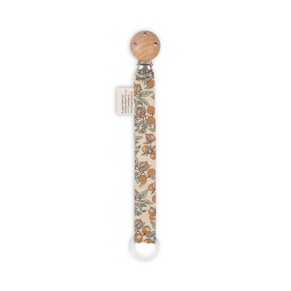 Konges Sløjd Pacifier Strap Cotton – Orangery Beige