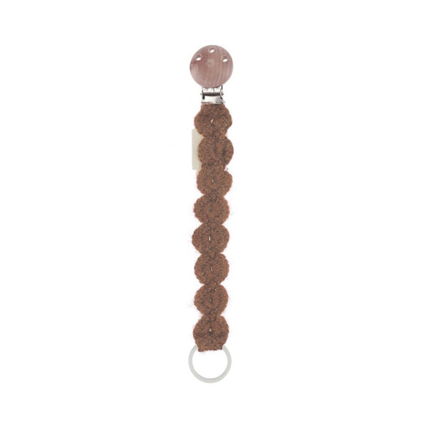 Konges Sløjd Pacifier Strap – Toffee