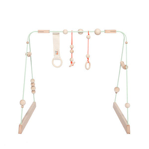 &me Baby Gym – Mint Green with Neon Details
