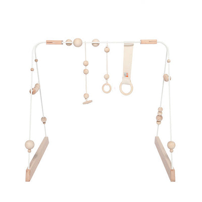 &me Baby Gym – White with Off White Details