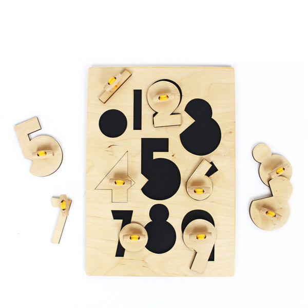 &me Puzzle Numbers – Yellow