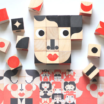 Miller Goodman Wooden Puzzle - Mini FaceMaker