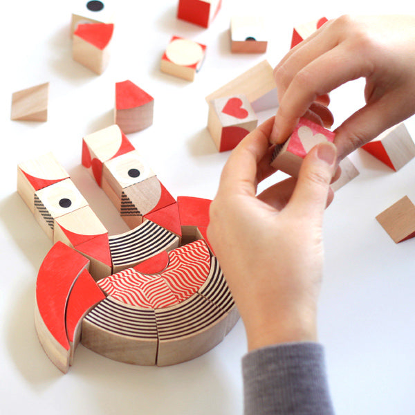 Miller Goodman Wooden Puzzle - HeartShapes