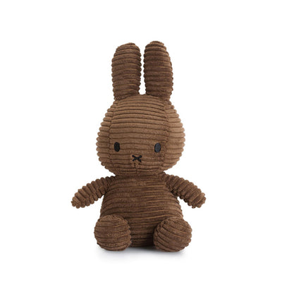 Miffy Corduroy Soft Toy – Brown