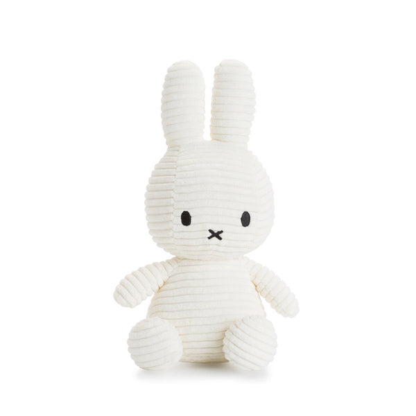 Miffy Corduroy Soft Toy – White