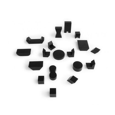 Rock and Pebble Mini Furniture – Black