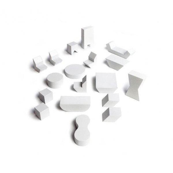 Rock and Pebble Mini Furniture – White